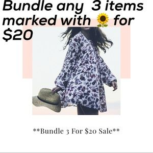 🌻🌻Bundle 3/$20 Sale🌻🌻